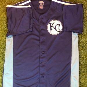 Kansas City Baseball Jersey  Mens Large